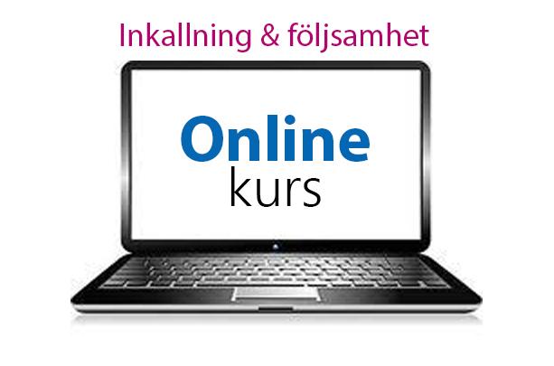 Inkallning & följsamhet Online