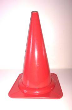 röd markeringskon för rallylydnad