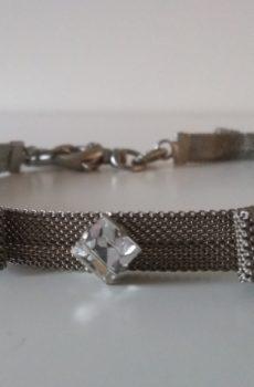 Lyxigt halsband med swarovski kristaller