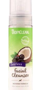 Tropiclean waterless facial cleaneanser - vattenfritt schampoo för hund